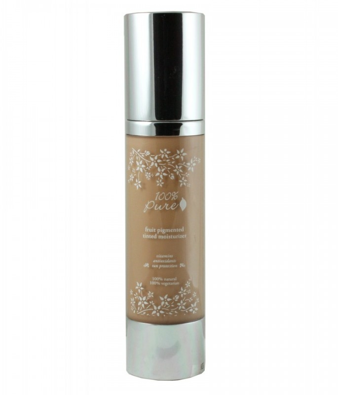 Crema hidratanta nuantatoare cu antioxidanti, Golden Peach - 100 Percent Pure Cosmetics