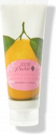 Crema hidratanta pentru corp cu aroma de grapefruit roz - 100 Percent Pure Cosmetics