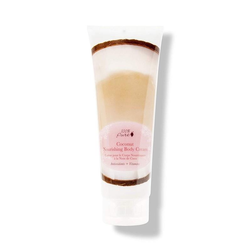 Crema hidratanta pentru corp cu nuca de cocos - 100 Percent Pure Cosmetics