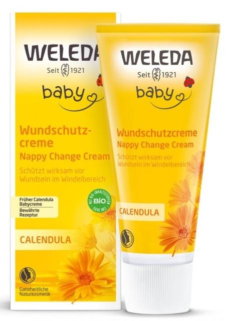 Crema iritatii scutec cu galbenele, 75 ml  - Weleda Baby