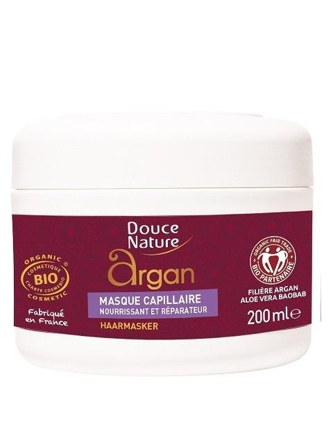 Crema nutritiva pentru fata si corp cu ulei de argan si unt de karite, 200 ml - Douce Nature