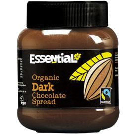Crema bio tartinabila de ciocolata dark, 400g - Essential Organic