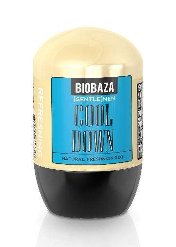 Deodorant natural pentru barbati COOL DOWN (menta) - BIOBAZA