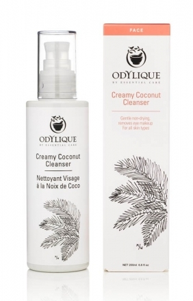 Demachiant organic cremos cu nuca de cocos, 200 ml - Odylique by Essential Care