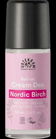 Deo roll-on crema cu mesteacan Nordic Birch - URTEKRAM