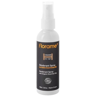 Deodorant bio Homme, spray 100 ml - Florame