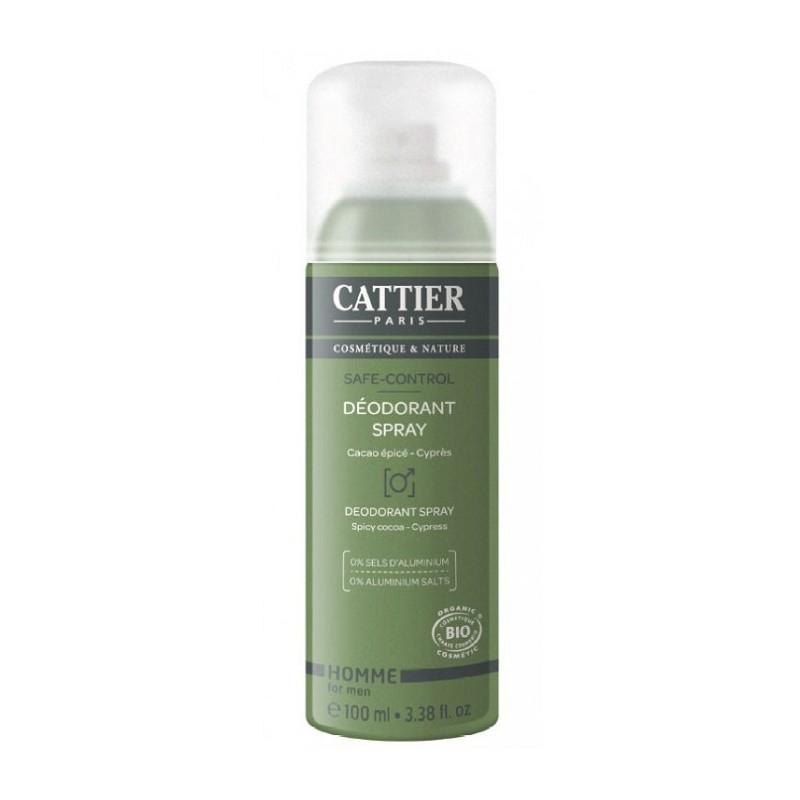 Deodorant bio pentru barbati Safe Control - CATTIER