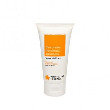 Deodorant crema bio cu aroma de citrice, 50ml - Biofficina Toscana