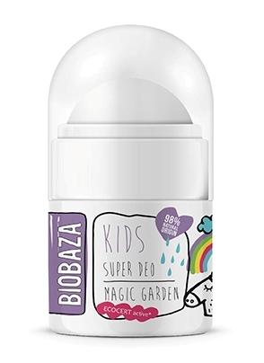 Deodorant natural pentru copii Magic Garden, 30ml - BIOBAZA
