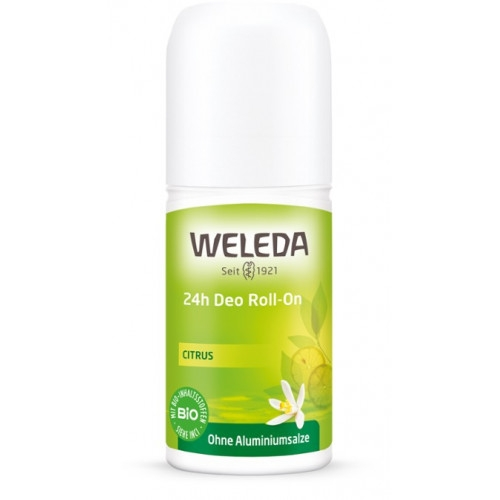 Deodorant natural roll on 24h Citrus - Weleda