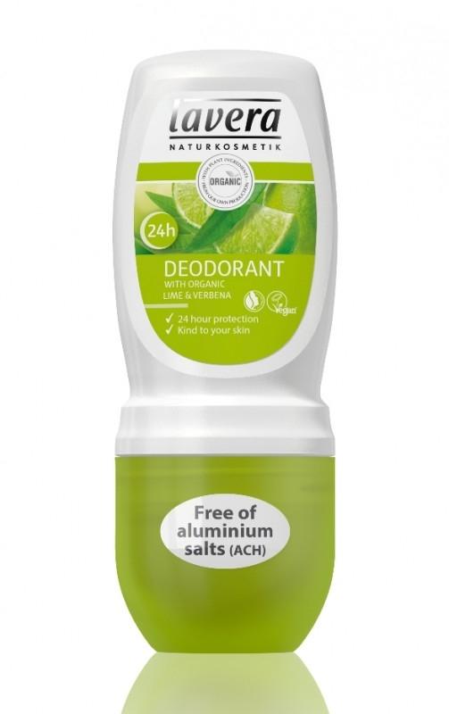 Deodorant roll-on bio Lime si Verbina, 50 ml - LAVERA