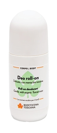 Deodorant roll-on bio, 50ml - Biofficina Toscana