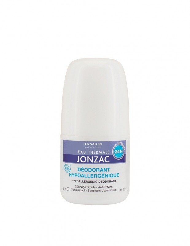 Deodorant roll-on hipoalergenic cu apa termala, 50 ml - JONZAC