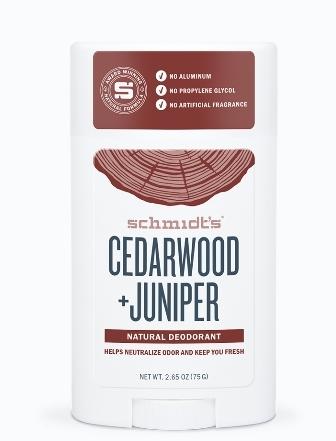 Deodorant stick cu bicarbonat, Cedarwood & Juniper - Schmidts's Deodorant