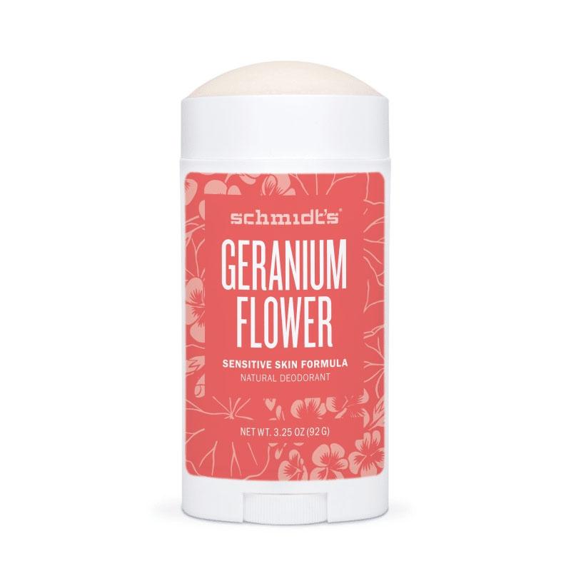 Deodorant stick cu magneziu pentru piele sensibila, Geranium - Schmidts's Deodorant