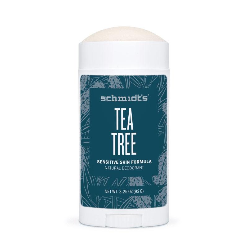 Deodorant stick cu magneziu pentru piele sensibila, Tea tree - Schmidts's Deodorant