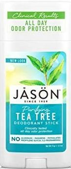 Deodorant stick natural cu tea tree - Jason