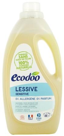 Detergent bio hipoalergenic FARA PARFUM pentru bebelusi sau piele sensibila, 2L - Ecodoo