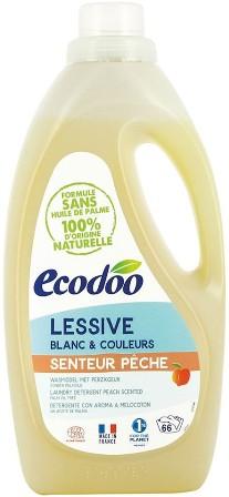 Detergent bio pentru rufe cu aroma de piersici, 2L - Ecodoo