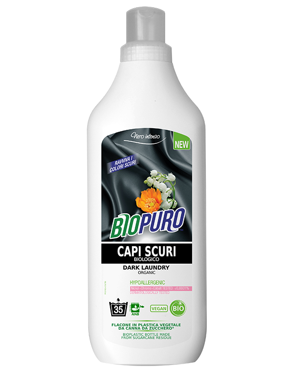 Detergent ecologic pentru rufe negre, 35 spalari - Biopuro