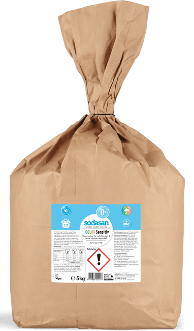 Detergent praf Comfort Sensitive pentru bebelusi si piele sensibila, 5 kg- Sodasan