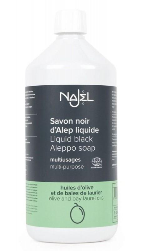 Detergent universal BIO cu sapun negru de Alep, 1L - Najel