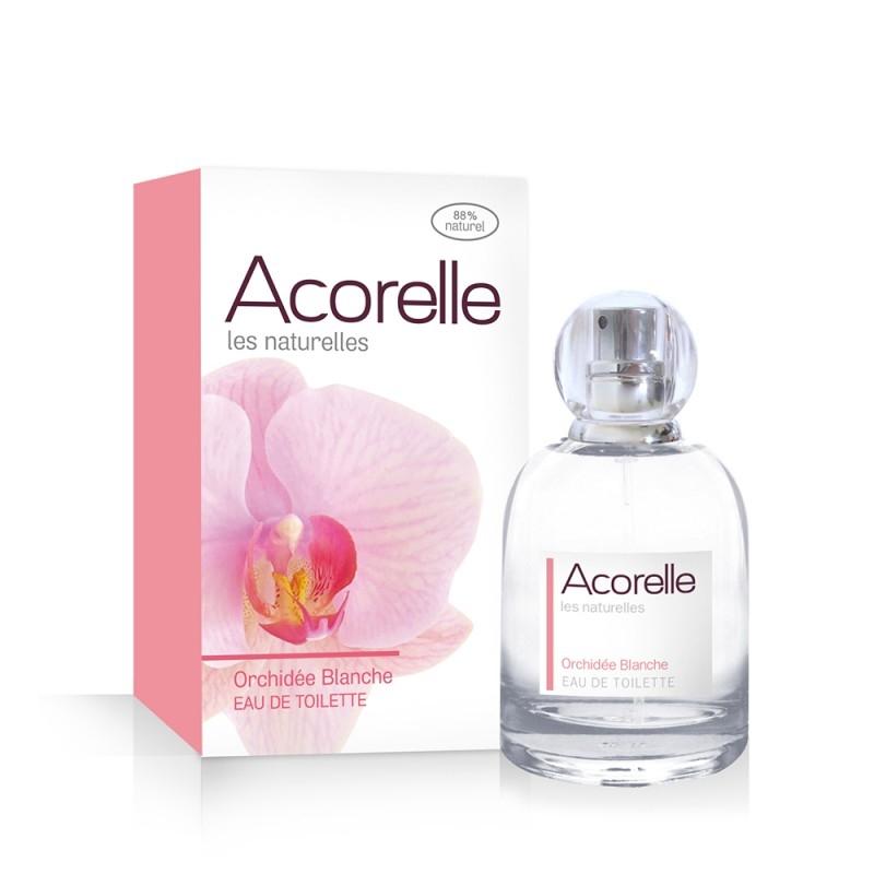 Apa de toaleta naturala Orchidee Blanche, 50 ml - Acorelle