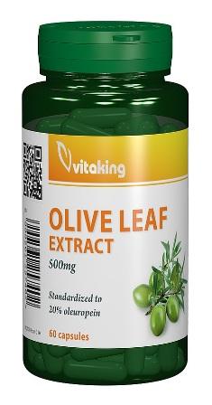 Extract standardizat din frunze de maslin 500mg, antibiotic natural, 60 cps - Vitaking