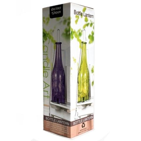 Felinar din sticla reciclata, Lavender - Ancient Wisdom