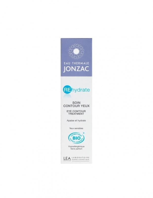 Fluid hidratant hipoalergenic pentru contur ochi sensibili, REhydrate 15 ml - JONZAC