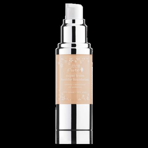 Fond de ten acoperire totala si protectie solara, White Peach - 100 Percent Pure Cosmetics