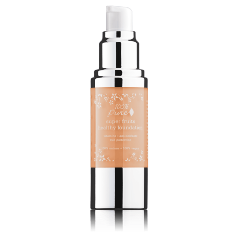 Fond de ten acoperire totala si protectie solara, Golden Peach - 100 Percent Pure Cosmetics