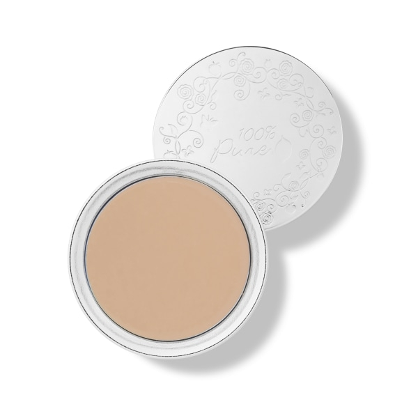 Fond de ten compact Cream Foundation, White Peach - 100 Percent Pure Cosmetics