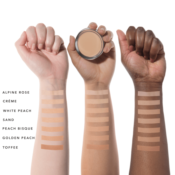 Fond de ten compact Cream Foundation, Creme - 100 Percent Pure Cosmetics