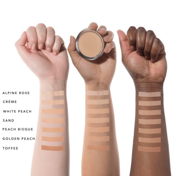 Fond de ten compact Cream Foundation, Sand - 100 Percent Pure Cosmetics