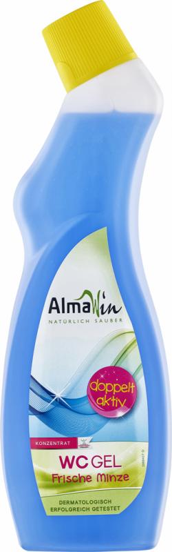 Gel WC ecologic concentrat, aroma de menta, 750ml - AlmaWin
