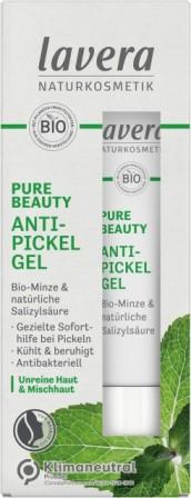 Gel anti acnee cu menta, zinc si acid salicilic natural, 15 ml - LAVERA