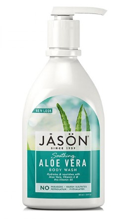 Gel de dus hidratant cu Aloe Vera,  887 ml - Jason