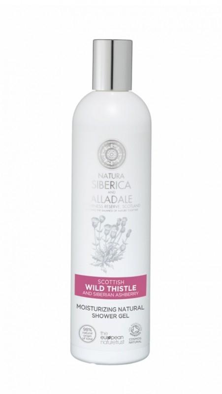 Gel de dus hidratant cu armurariu si catina siberiana Alladale, 400 ml - Natura Siberica