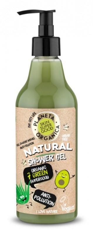 Gel de dus natural Anti-Poluare Skin Supergood, 500ml - Planeta Organica