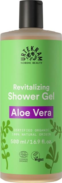 Gel dus Aloe Vera, family size 500 ml - URTEKRAM