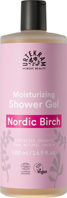 Gel dus bio superhidratant mesteacan Nordic Birch, 500 ml - URTEKRAM