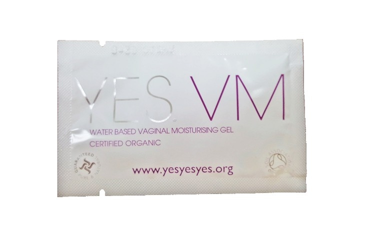 Gel hidratant intim certificat organic, plic 7 ml - YES