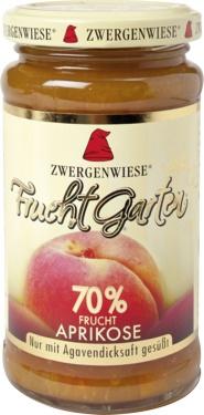 Gem bio de caise cu nectar de agave, fara zahar, 225g - Zwergenwiese