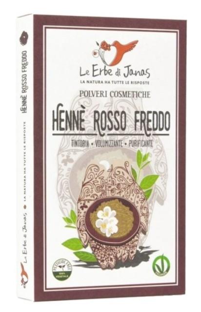 Henna Rosu Rece, 100 g - Erbe di Janas