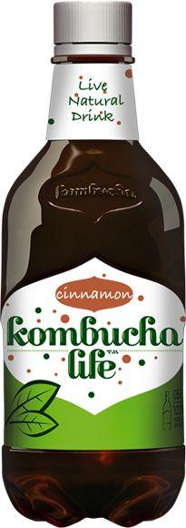 Bautura Kombucha cu scortisoara, 500ml - Kombucha Life