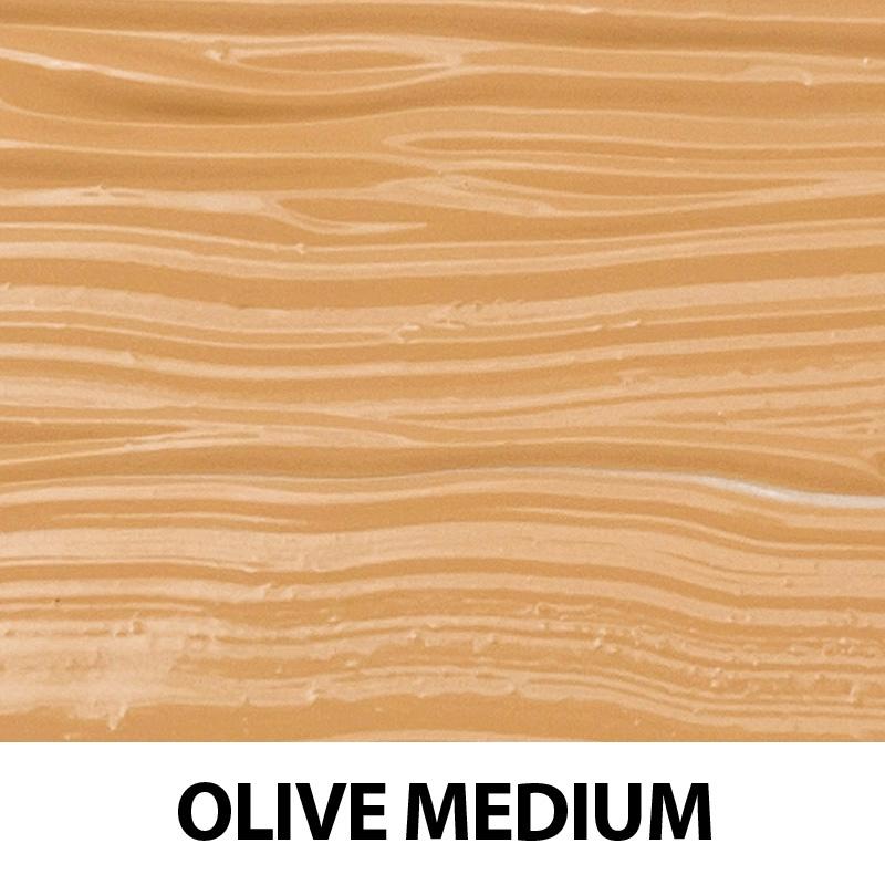 Fond de ten organic cu ingrediente florale, Olive Medium - ZUII Organic