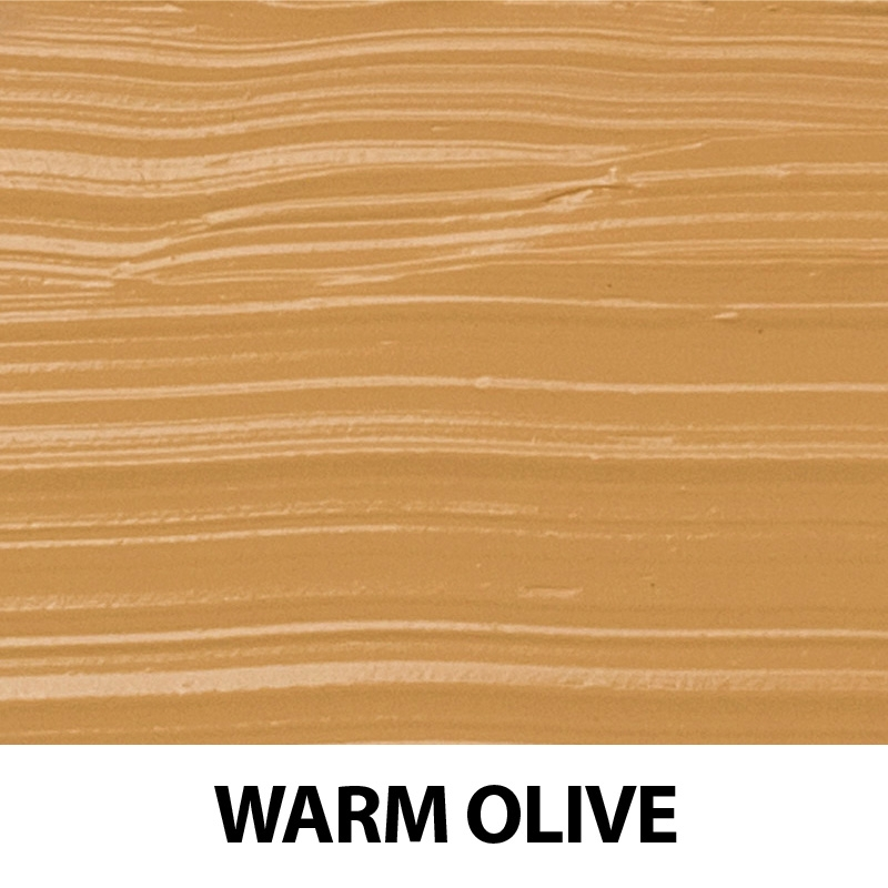Fond de ten organic cu ingrediente florale, Warm Olive - ZUII Organic