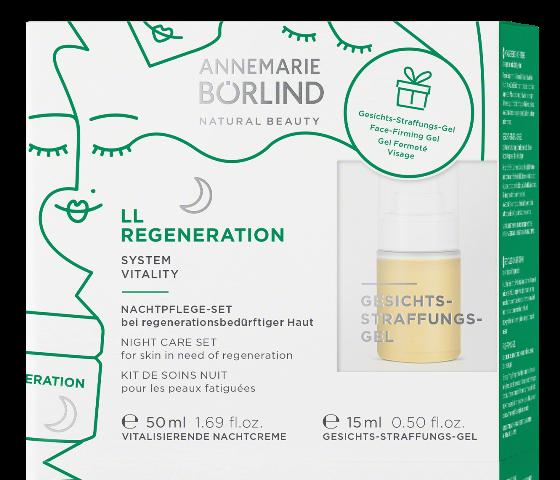 LL Regeneration Crema de noapte regeneranta pentru primele riduri + CADOU Gel tonifiant - Annemarie Borlind