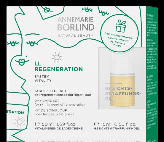 LL Regeneration Crema de zi vitalizanta pentru primele riduri + CADOU Gel tonifiant - Annemarie Borlind